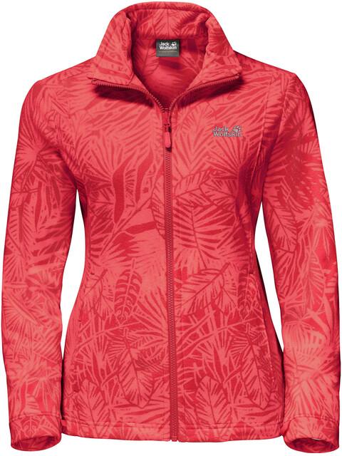 Jack Wolfskin Kiruna Jungle Naiset takki , punainen